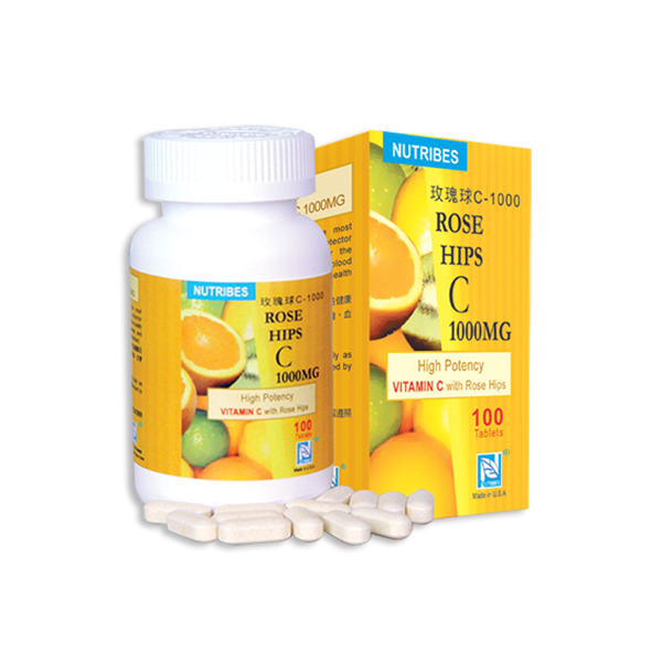 Nutribes Rose Hips C 1000mg