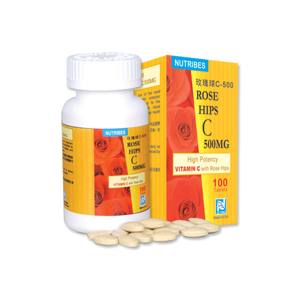 Nutribes Rose Hips C 500mg